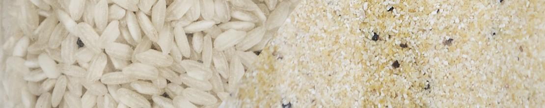 Rice - Polenta