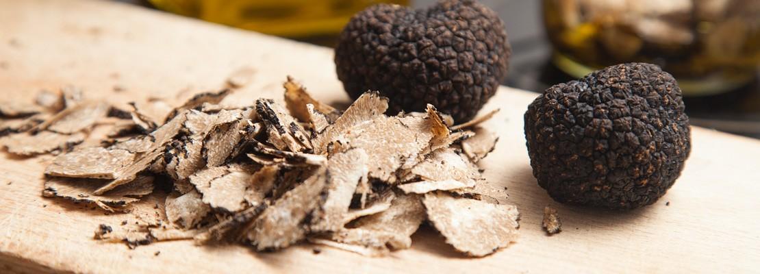 Tranches de truffes